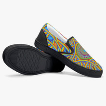 Load image into Gallery viewer, Rainbow Torus Slip-On Shoes