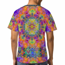 Load image into Gallery viewer, Stealie Tie-die Unisex Yoga Tee