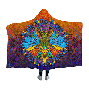 Unilioncorn Hooded Blanket Cloak
