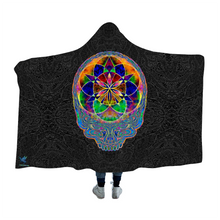 Load image into Gallery viewer, Seed of Life Stealie Hooded Blanket Cloak