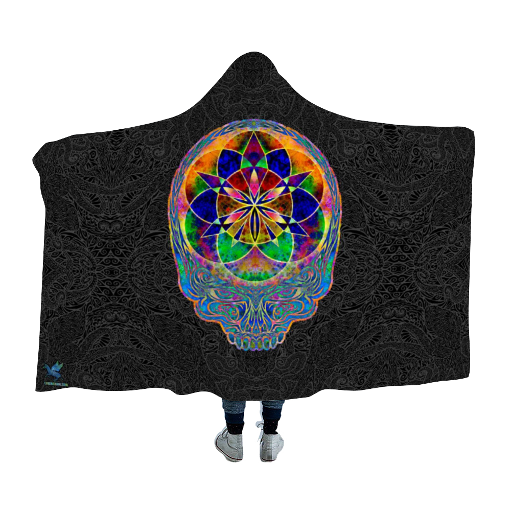Seed of Life Stealie Hooded Blanket Cloak