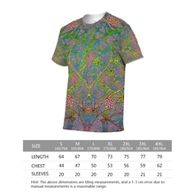 Load image into Gallery viewer, Rasta Heart Unisex Yoga Tee
