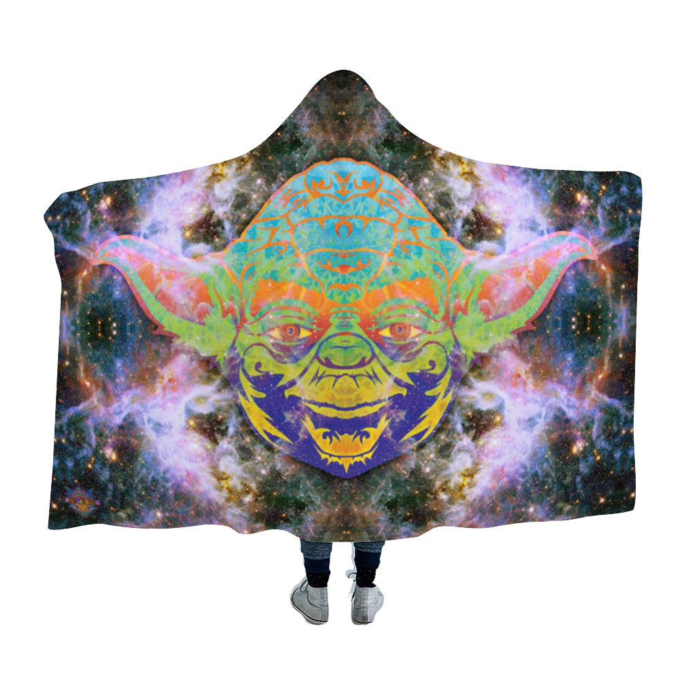 Yoda Dimension Hooded Blanket Cloak
