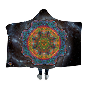 Stealie Mandala Hooded Blanket