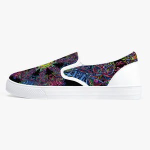 Black Phoenix Slip-On Shoes