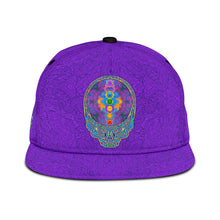 Load image into Gallery viewer, Chakra Stealie Snapback Hat