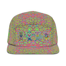 Load image into Gallery viewer, Dancing Bears 5 Panel Hat