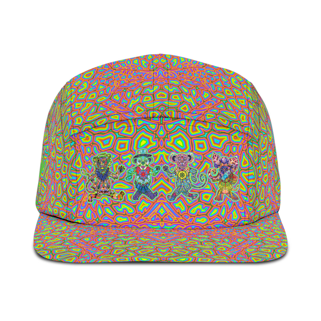 Dancing Bears 5 Panel Hat