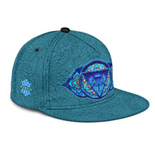 Load image into Gallery viewer, Third Eye Chakra Snapback Hat