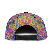 Load image into Gallery viewer, Flower of Life Rainbow Snapback Hat