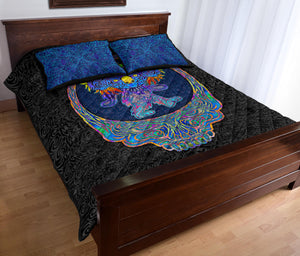 Dancing Koala Quilt Bed Set
