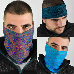 Blues Style Tube Bandana 3 Pack
