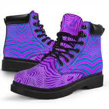 Load image into Gallery viewer, Cheshire Zebra Boots