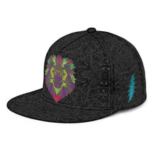 Load image into Gallery viewer, Tribal Lion Snapback Hat