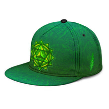 Load image into Gallery viewer, Heart Chakra Snapback Hat