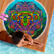 Load image into Gallery viewer, Koala Mandala Beach Blanket