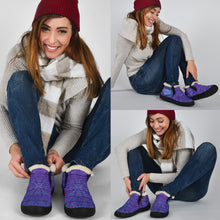 Load image into Gallery viewer, Violet Koala Winter Sneakers
