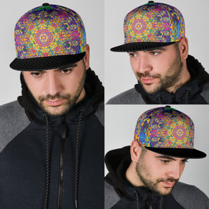 Flower of Life Rainbow Snapback Hat