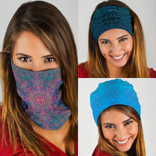 Load image into Gallery viewer, Blues Style Tube Bandana 3 Pack