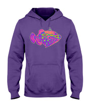 Load image into Gallery viewer, Rainbow Clown Fish Hoodie