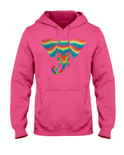 Load image into Gallery viewer, Rainbow Elephant Hoodie