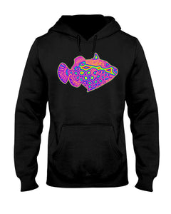 Rainbow Clown Fish Hoodie