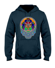 Load image into Gallery viewer, Stealie Seed of Life Hoodie