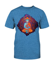 Load image into Gallery viewer, Musical Buddha Unisex T-shirt