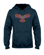 Load image into Gallery viewer, Tribal Owl Hoodie