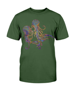 Psychedelic Jellyfish Unisex T-Shirt
