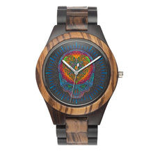 Load image into Gallery viewer, Stealie Your Heart Wood Watch