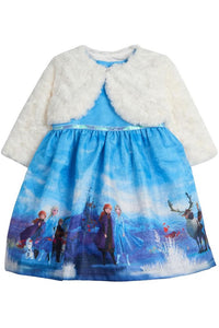 Disney X Pippa & Julie Frozen 2 Elsa and Anna Jacket Dress KPF0002