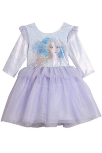 Disney X Pippa & Julie Frozen 2 Elsa Peplum Tutu Dress KPF0004