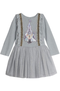 Disney X Pippa & Julie Frozen Castle Tutu Dress KPF0005