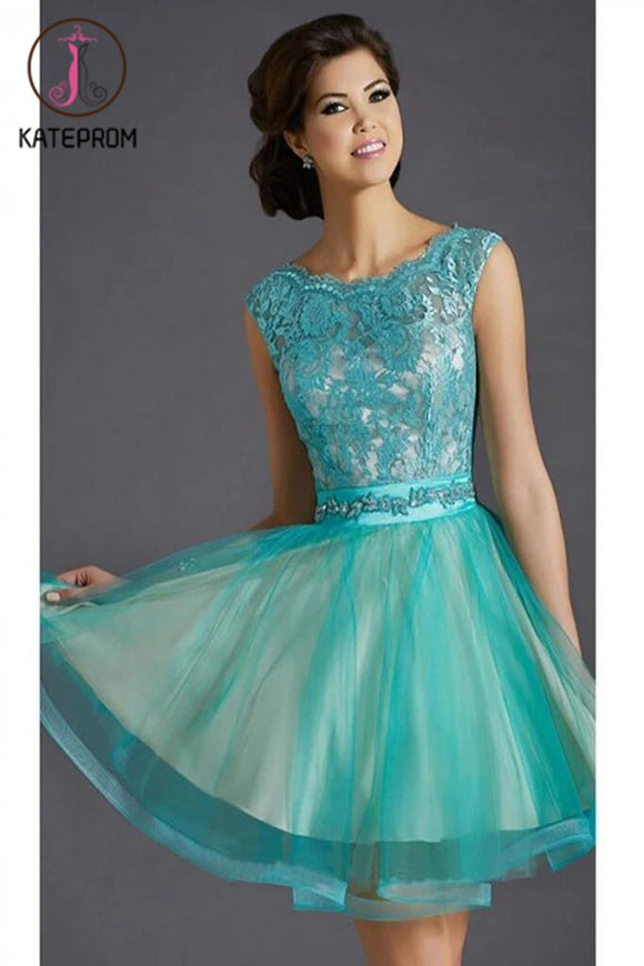 New Arrival Lace Short Prom Dress Homecoming Dress KPH0046