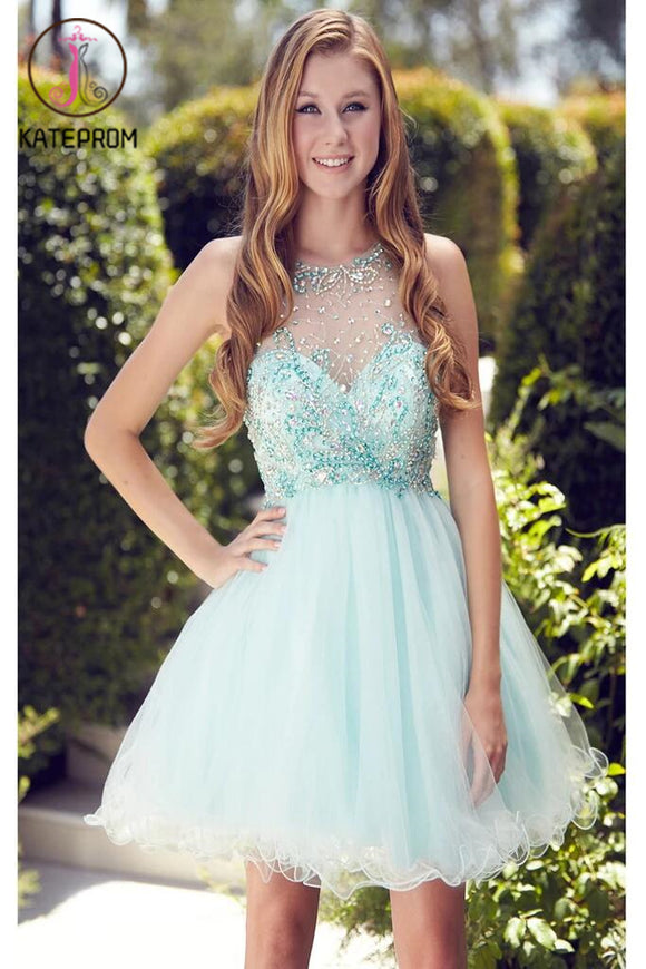 Beading Short/Mini Prom Dress Homecoming Dress KPH0051