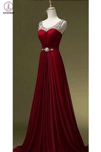 New Arrival Beading Long Prom Dress Evening Dress KPP0077