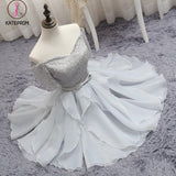 Silver Off-the-shoulder Homecoming Dress Half Sleeve Short Prom Dress Party Dress with Band KPH0194