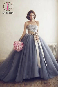 A line Prom Dresses,Ball Gown Party Dress,Custom Long Prom Dresses,Formal Evening Dresses KPP0153