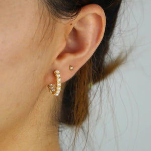 Nancy Hoop Earrings