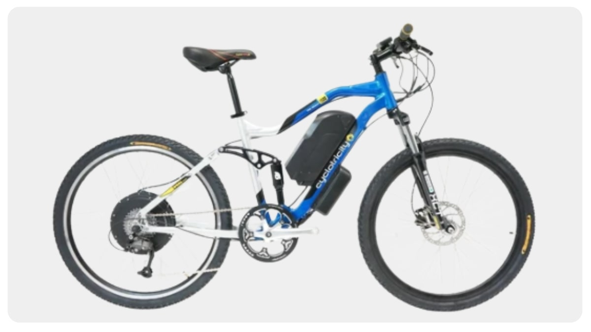 Best Electric Mountain Bike With A Throttle Acceleration