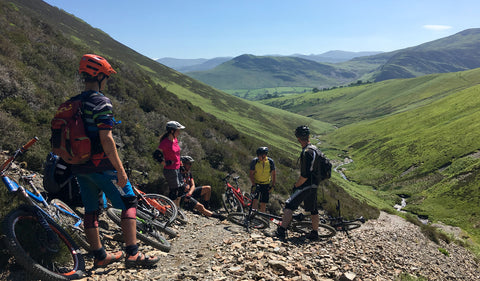 Electric Rider - Sticks Pass and Helevyn, Lake District