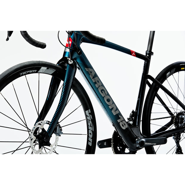 Argon18 Subito E-Road Electric Bike Ultegra Blue/Black 2021 - Electric Rider™
