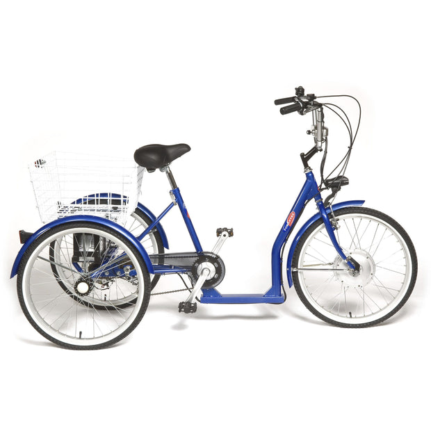 Powabyke Deluxe Trike Cruiser 6 Speed Low Step 36v Lithium - ElectricRider