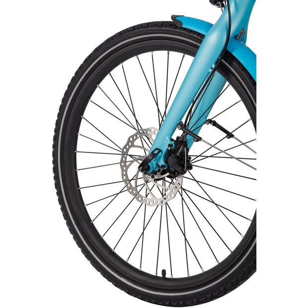 "WISPER 705 STEP-THROUGH ELECTRIC BIKE 24"" - ElectricRider"