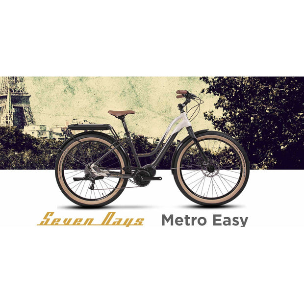 Fantic Seven Days Metro Electric Bike 2021 - Electric Rider™