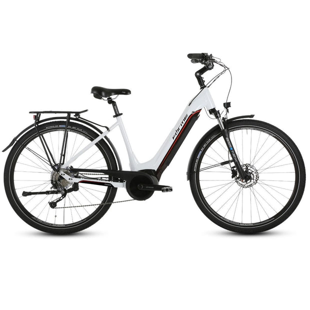 Forme Morley Pro ELS 700c White/Black E-Bike Electric Bike - ElectricRider
