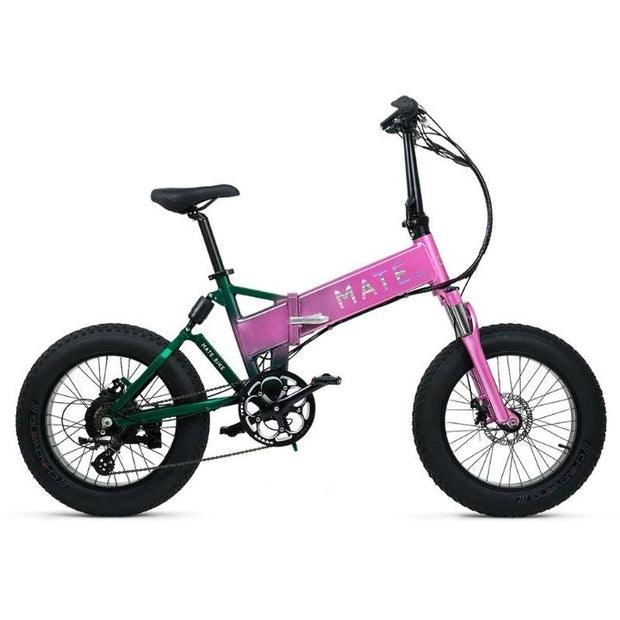 MATE X 750W FAT TYRE FOLDING ELECTRIC BIKE 2020 - ElectricRider