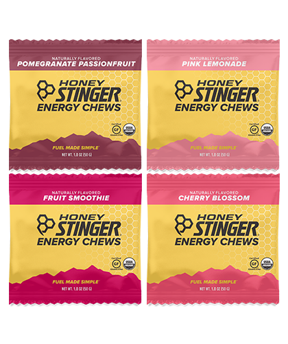 Honey Stinger Energy Chews - Nutrition