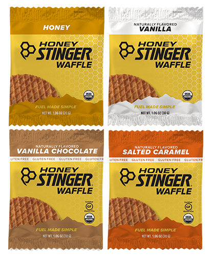 Honey Stinger Gluten Free Waffles - Nutrition